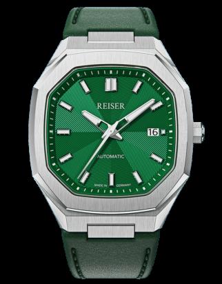 ALPEN Date - Emerald Green (Leather)