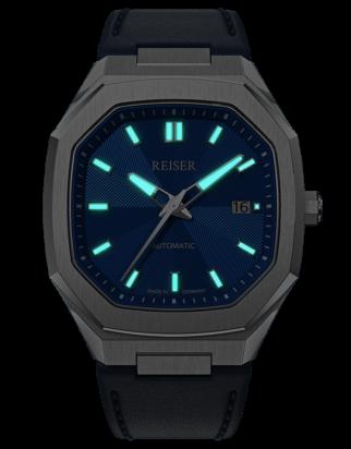 ALPEN Date - Pacific Blue (Leather)